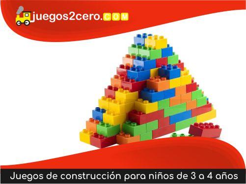 Juegos de construcción para niños de 3 a 4 años