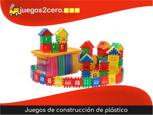 Juegos de construcción de plástico