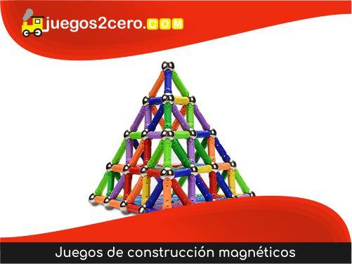 Juegos de construcción magnéticos