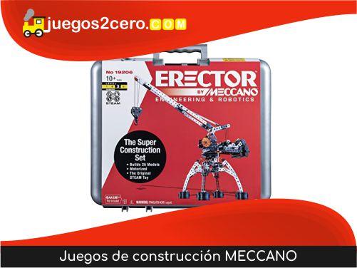Juegos de construcción MECCANO
